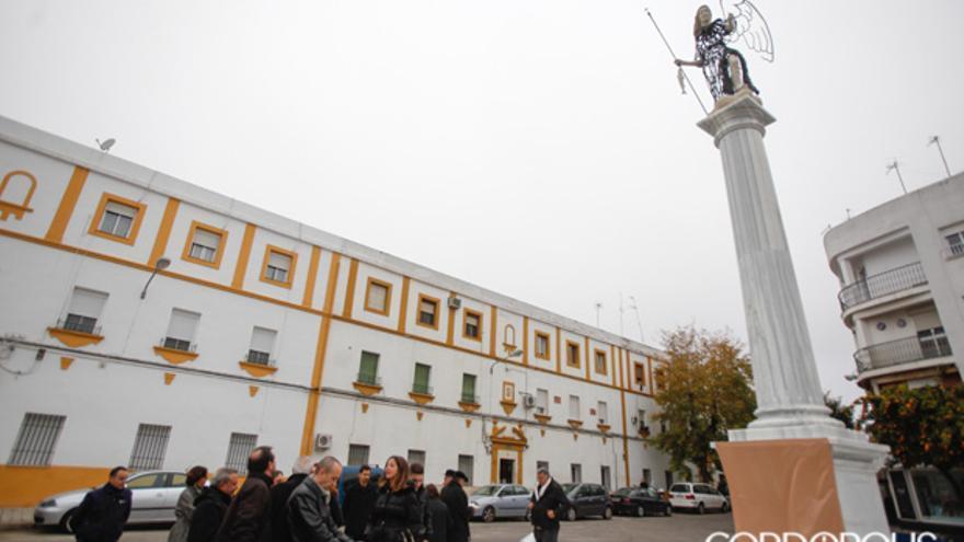 Inauguración de la estatua de San Rafael en la Fuensanta   ÁLVARO CARMONA