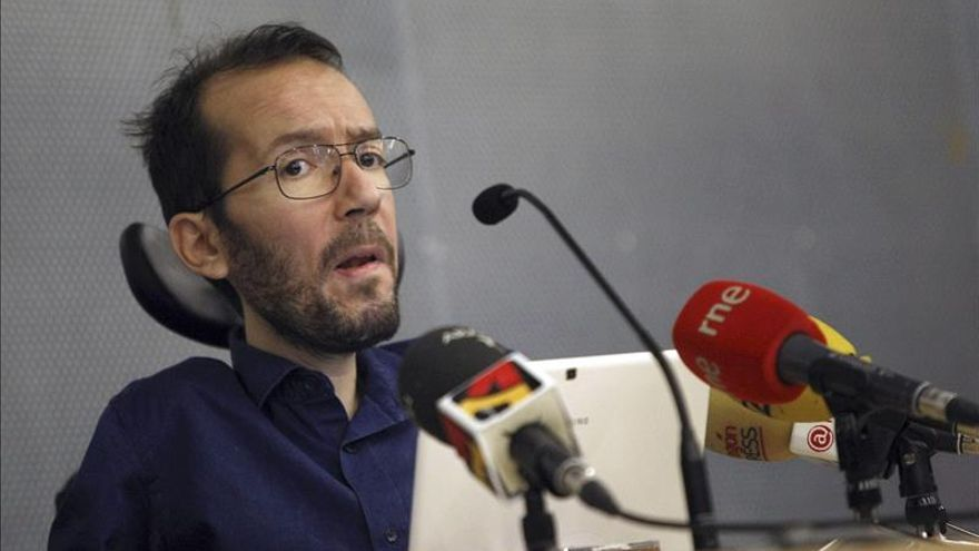 Echenique afirma que no hay sectores críticos en Podemos, pero sí diferencias