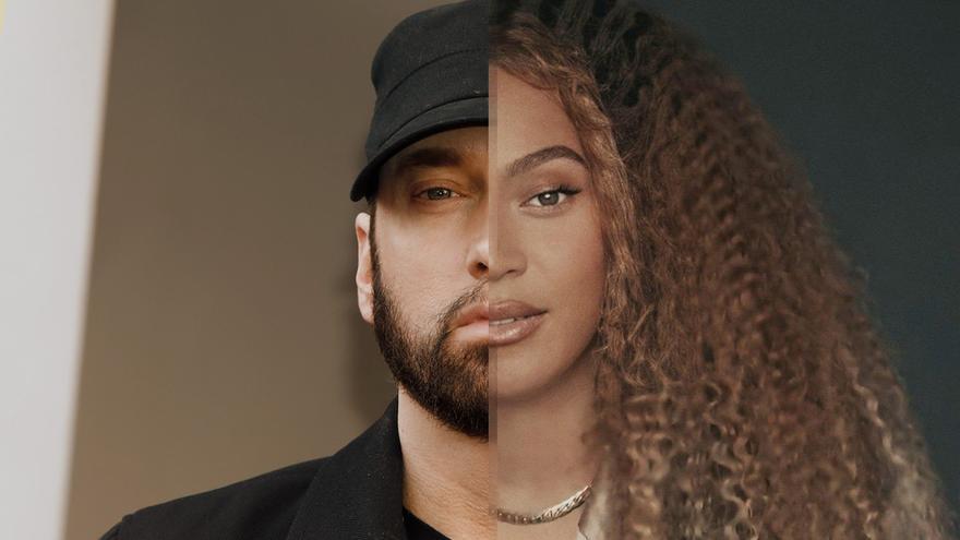 Eminem y Beyonce en imágenes recientes.