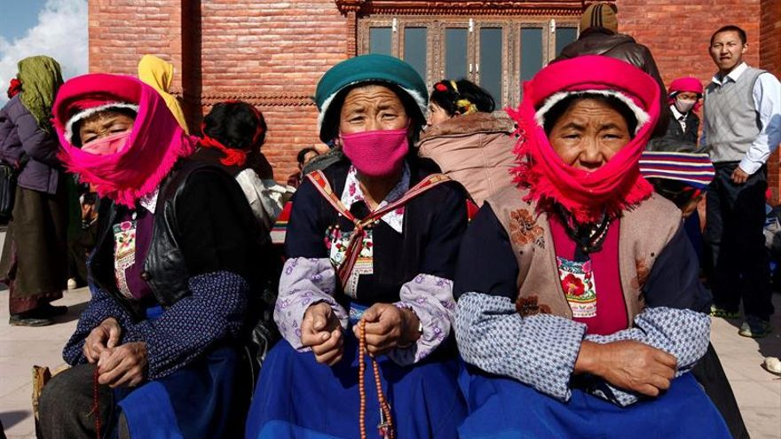 """China impide a los tibetanos acudir al rito budista """"Kalachakra"""" del dalái lama"""
