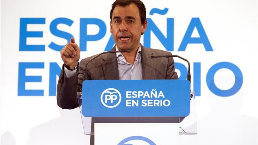 """El PP no variará """"ni un ápice"""" su campaña de calle por la agresión a Rajoy"""
