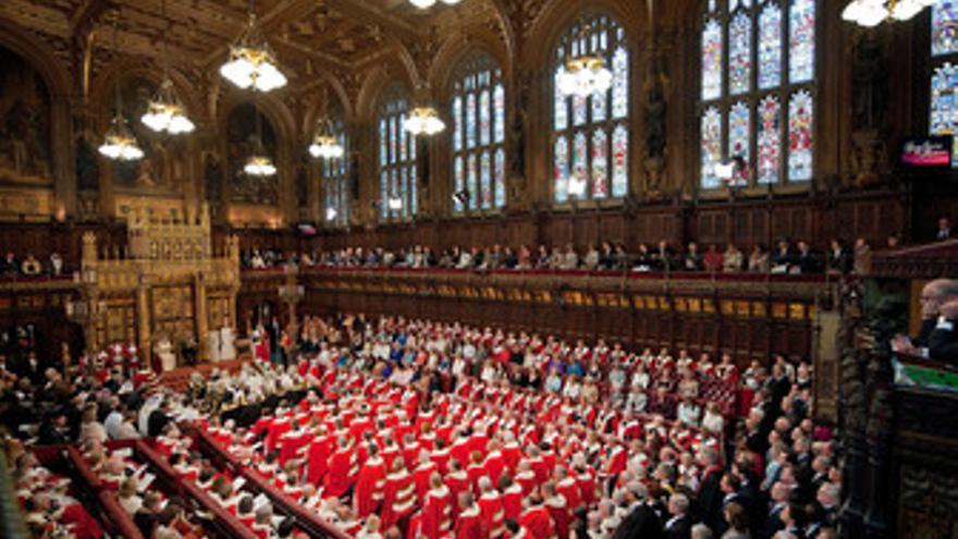 Cámara de los Lores en Reino Unido