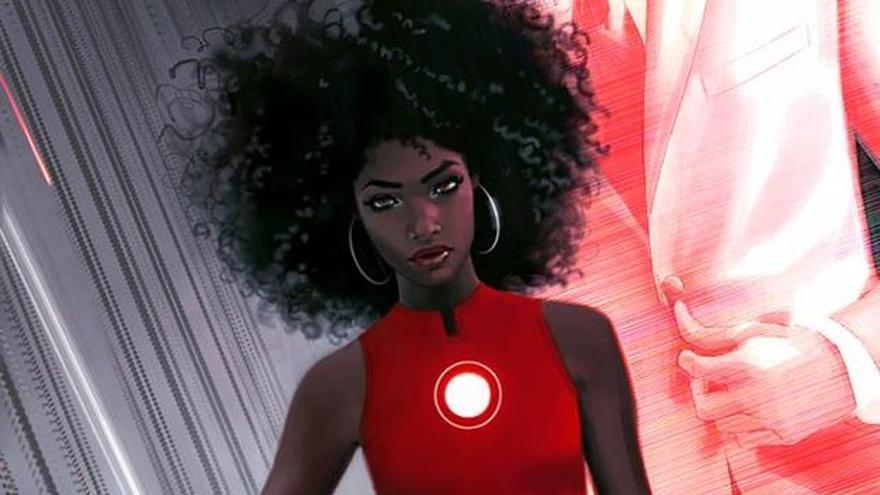 Ironheart, uno de los nuevos personajes de la compañía // Marvel