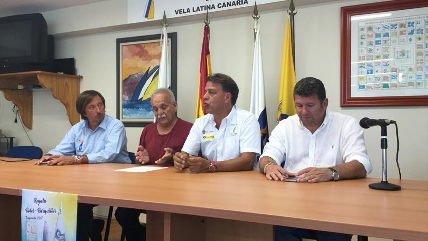 De izquierda a derecha: Ángel Delgado, Tino de la Nuez, Bernardo Salom y Orlando Umpiérrez.