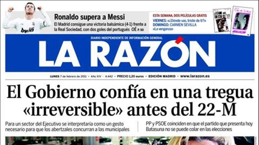 De las portadas del día (07/02/2011) #8