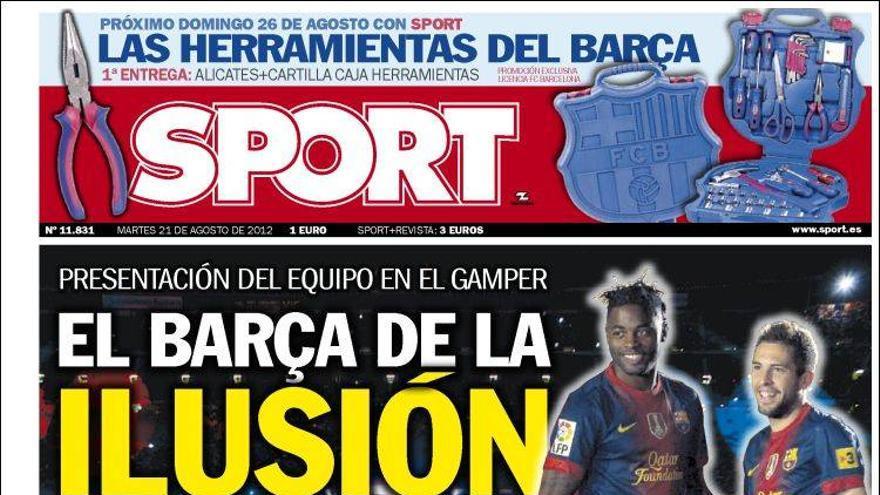De las portadas del día (21/08/2012) #14