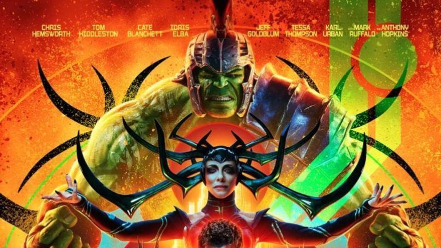 Cartel de 'Thor: Ragnarok'