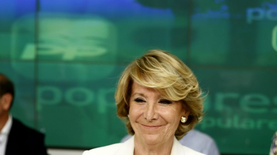 """Aguirre cree que el PP puede hacer """"excepciones"""" y autorizar el congreso de Madrid antes de convocar el nacional"""