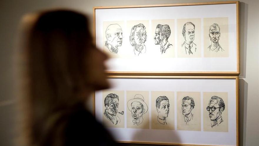 Una exposición muestra al Manolo Millares más indigenista y político