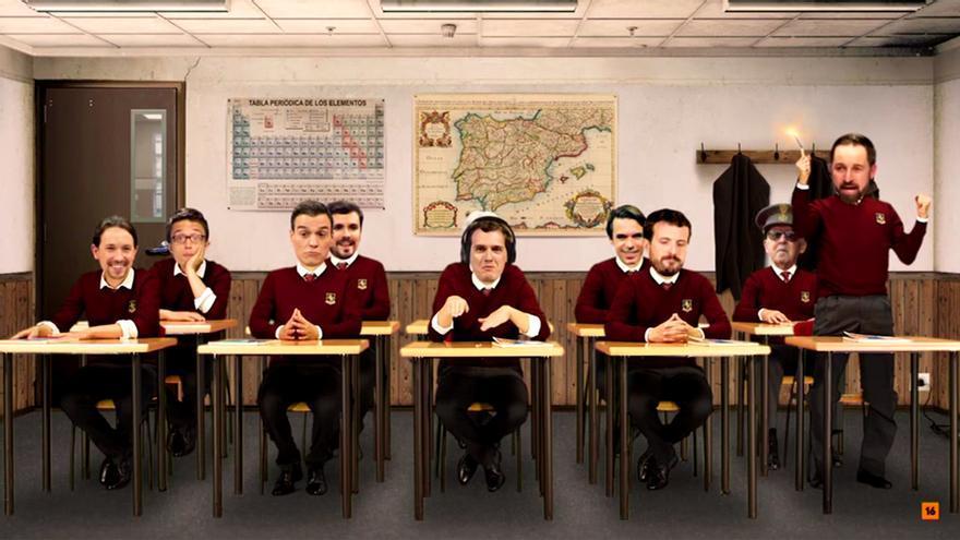 Los líderes políticos de ayer y de hoy 'vuelven' al colegio en 'LocoMundo'
