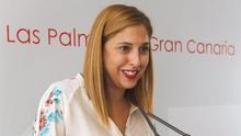 Isabel Mena, portavoz del PSOE en el Ayuntamiento de Las Palmas de Gran Canaria.