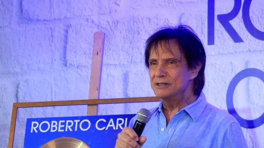 Roberto Carlos, homenajeado en Madrid por su trayectoria musical