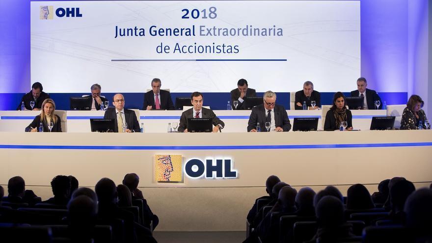 (AMP) OHL pacta un ERE para 176 empleados tras rebajar un 12% los despidos