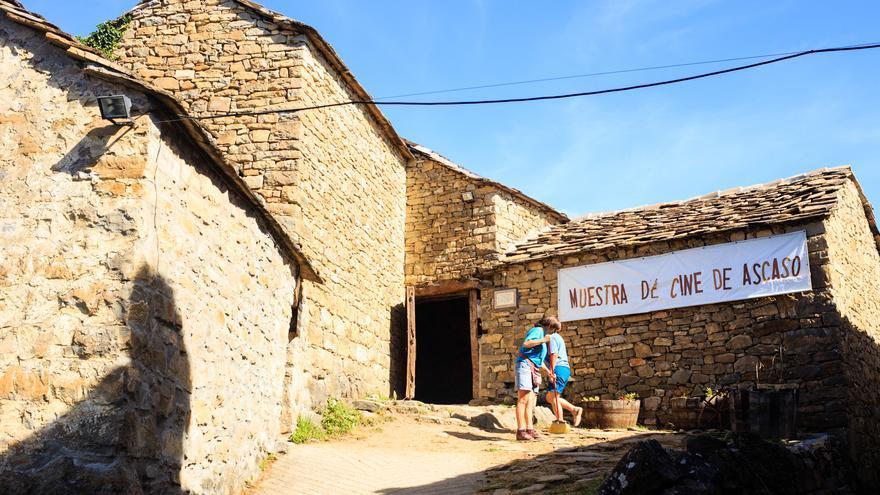Muestra de cine de Ascaso 2016. Foto: Carlos Ripollés.