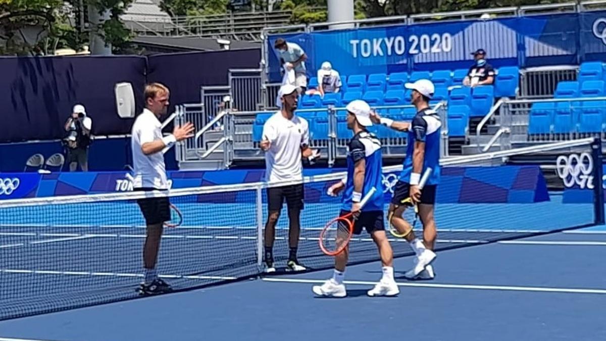 Schwartzman y Bagnis quedaron eliminados en el dobles masculino