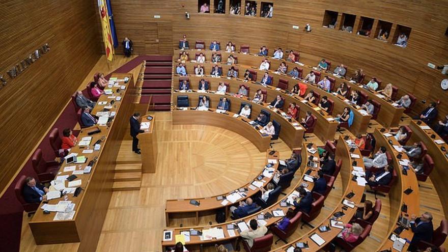 Ximo Puig en el Debate de Política General en les Corts