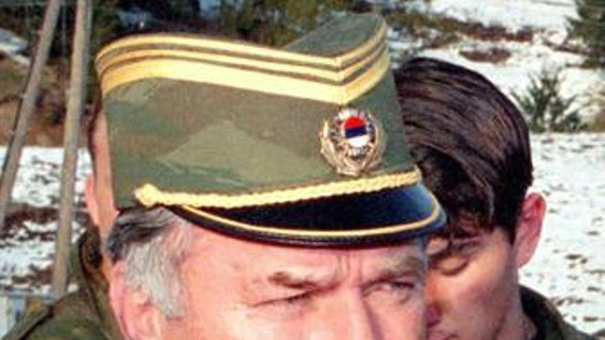 Ratko Mladic, militar serbio buscado