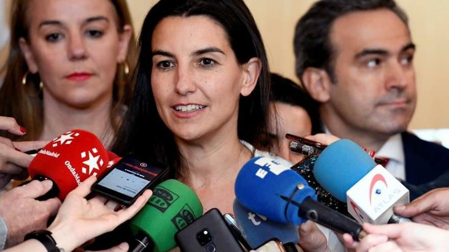 La líder de Vox en la Comunidad de Madrid, Rocío Monasterio.