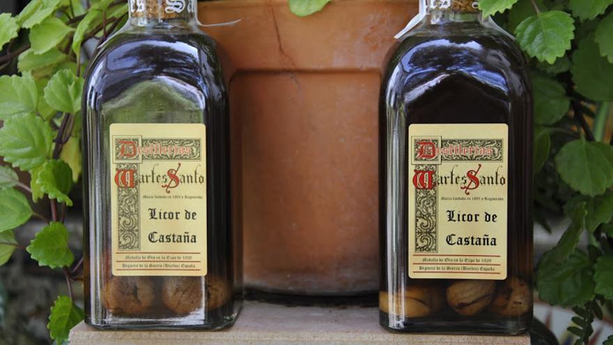 Licor de castañas de Huelva