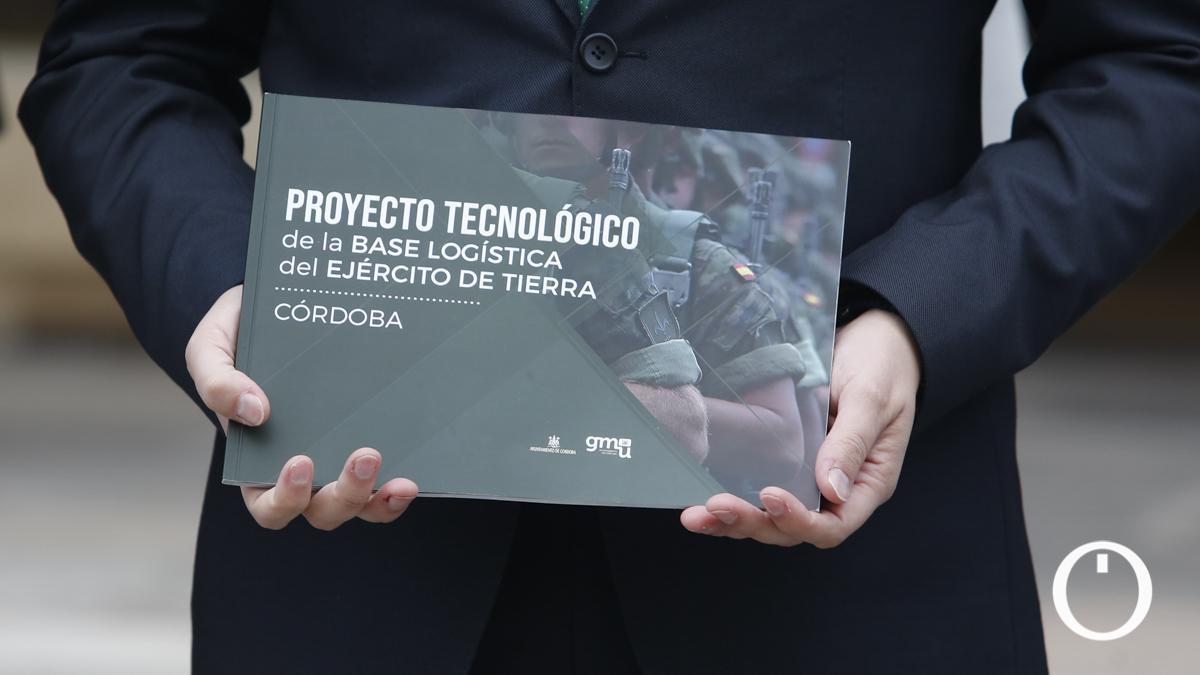 Proyecto de Córdoba para la base logística del Ejército de Tierra.