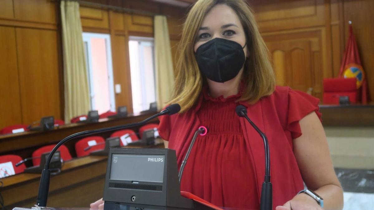 La concejal del Grupo Socialista en el Ayuntamiento de Córdoba Carmen Campos.