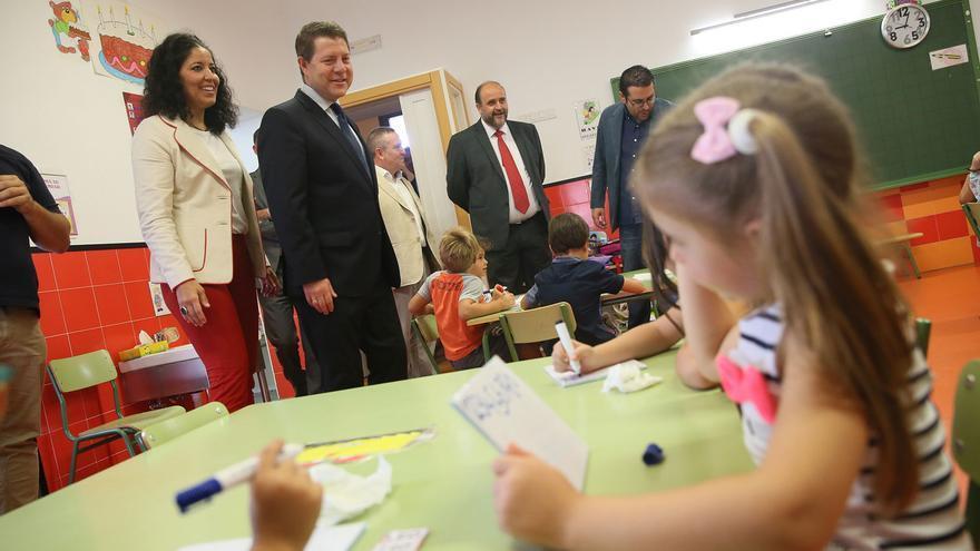 García-Page en la inauguración del curso escolar