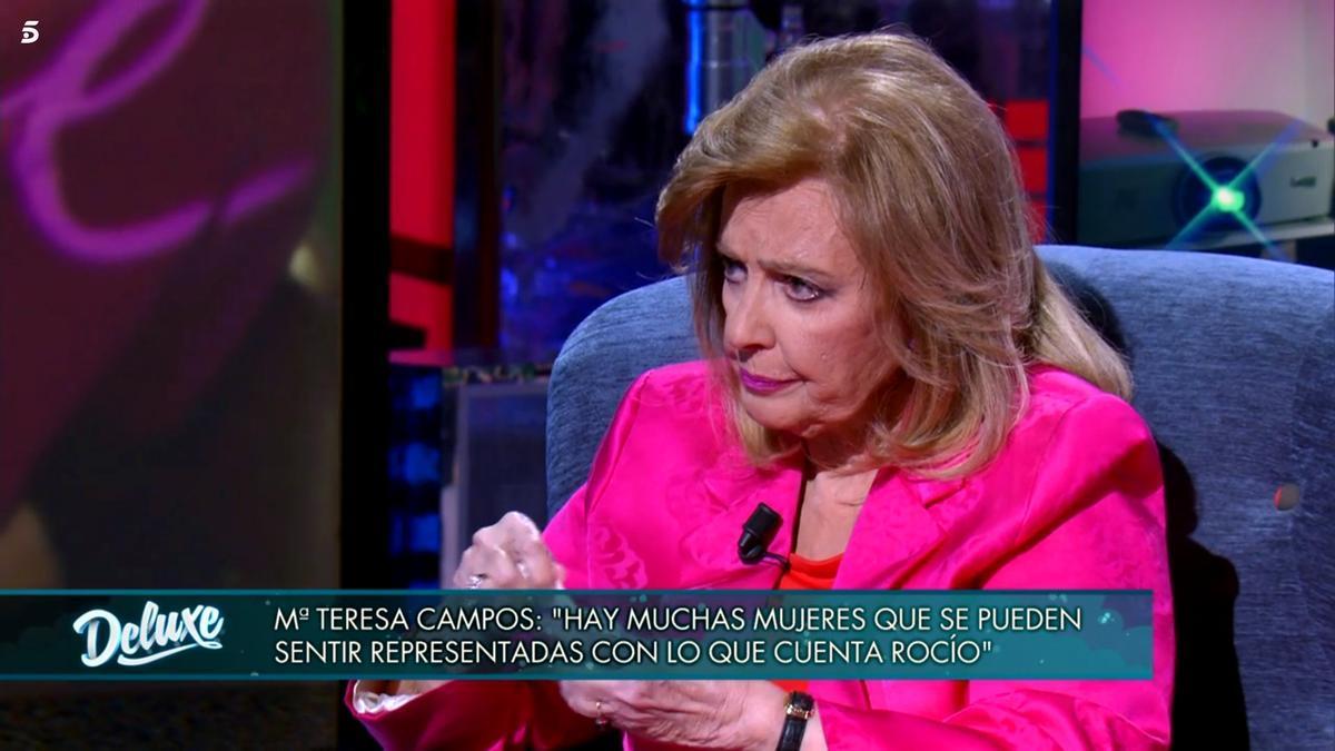 María Teresa Campos en 'Viernes Deluxe'