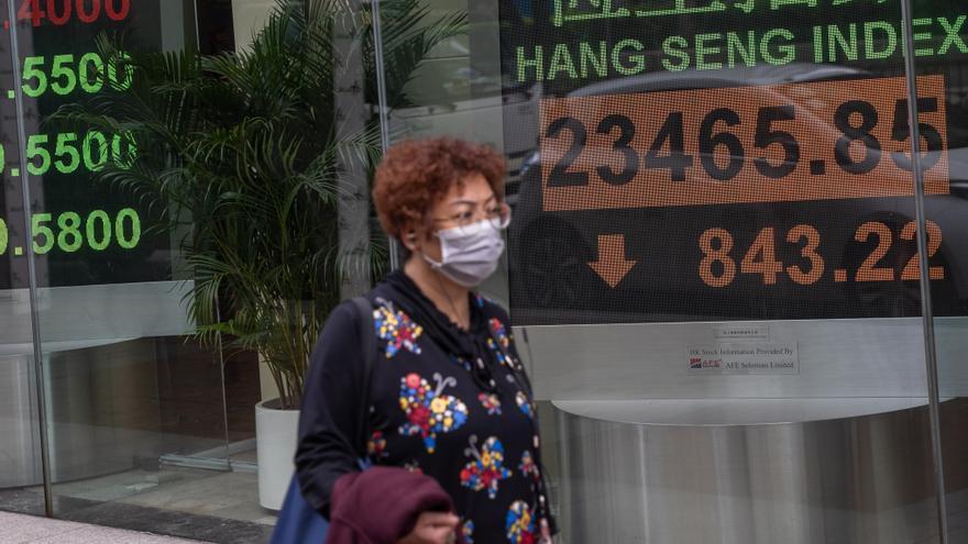 El Hang Seng se contagia del miedo a una nueva ola de contagios en Hong Kong