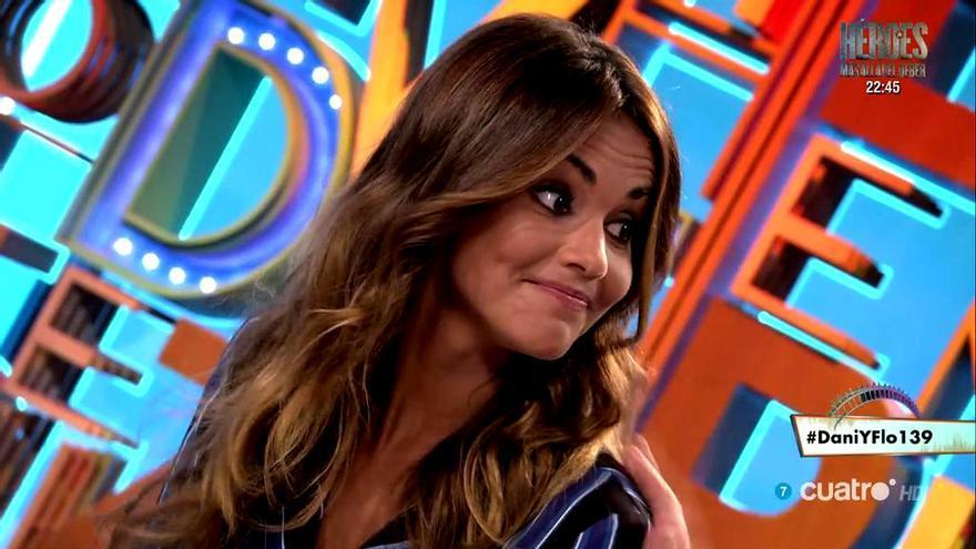 Lara Álvarez enmudece en Dani&Flo al preguntarle por Alonso