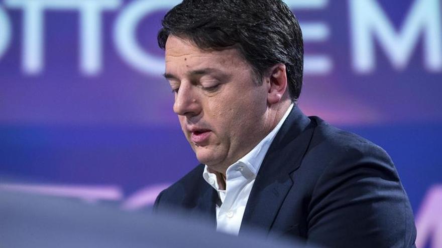 Renzi apela a la unidad en el PD de cara a las primarias del próximo domingo