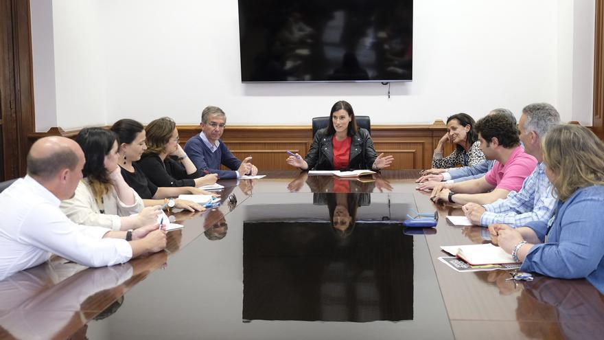 Reunión constitutiva del Grupo Popular en Santander. | AYUNTAMIENTO DE SANTANDER