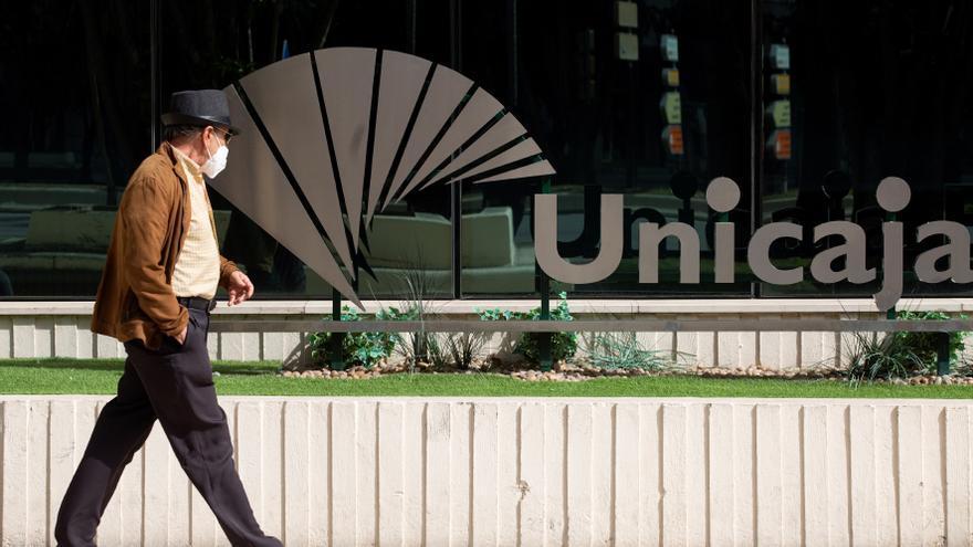 Unicaja gana 43 millones en primer trimestre, un 7,4 por ciento menos