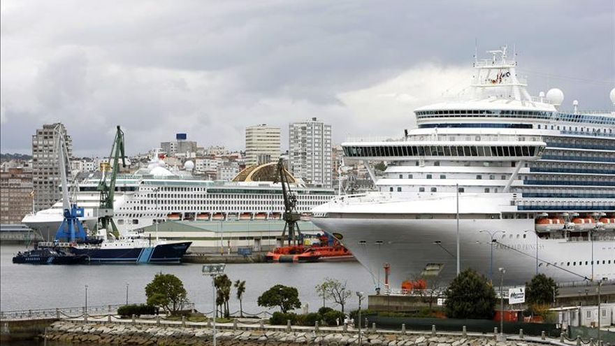 El Puerto coruñés crece un 12,5 por ciento con 3,1 millones de toneladas hasta marzo
