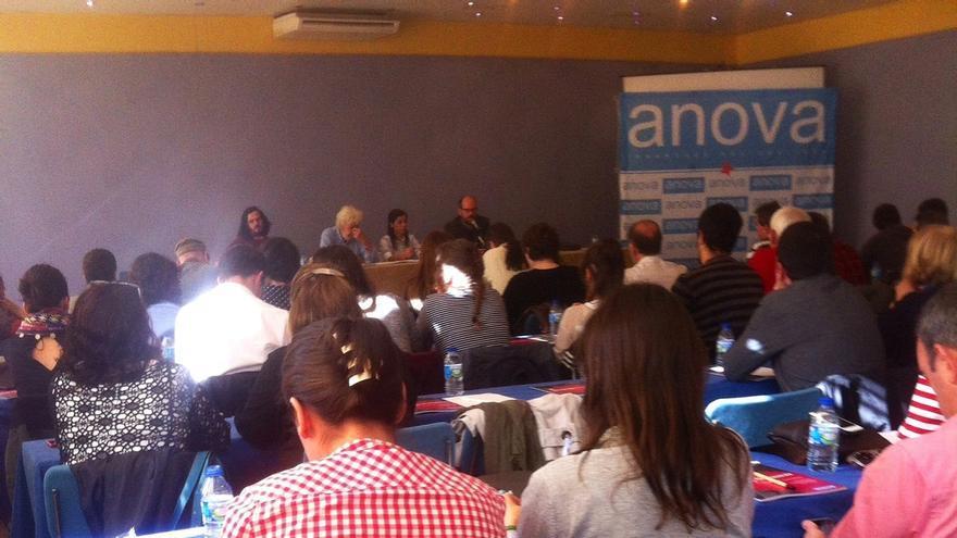 Beiras y Noriega compartirán la portavocía de Anova y Antón Sánchez y Brais Fidalgo serán coordinadores