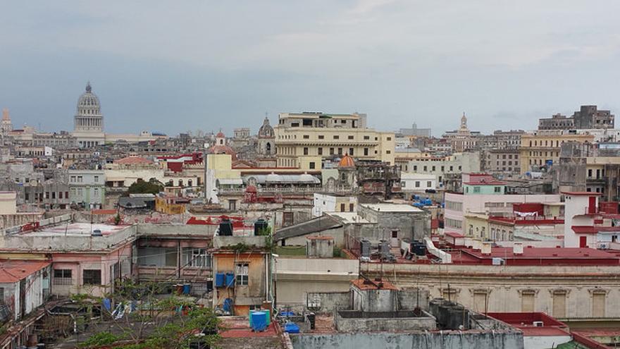 Techos de La Habana Vieja. Jorge Elías