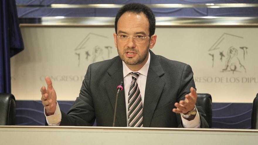 """Hernando (PSOE) dice que Gabilondo tiene """"muchas virtudes"""" pero quiere ser respetuoso con los militantes"""