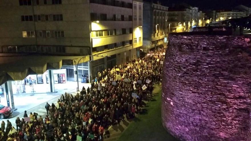 Manifestación de la tarde del 8M en Lugo