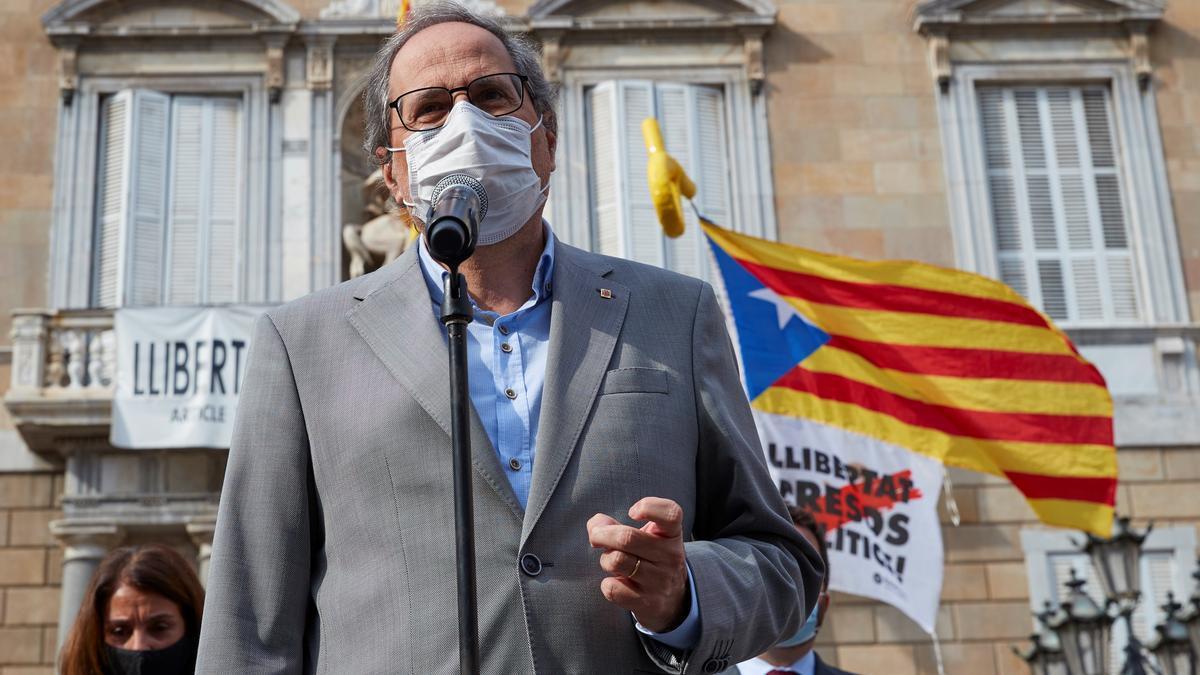 El expresidente de la Generalitat Quim Torra. EFE/Alejandro Garcia/Archivo
