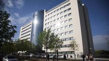 Edificio de consultas externas del hospital de Txagorritxu de Vitoria