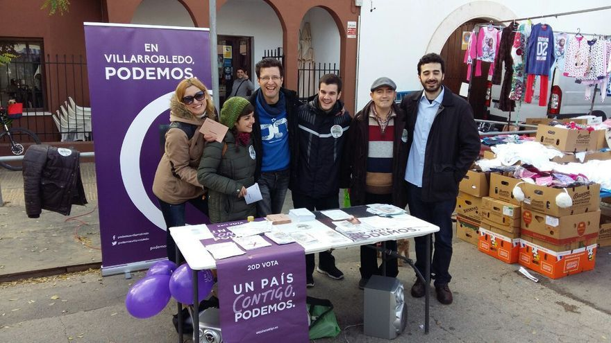 Círculo de Podemos en Villarrobledo
