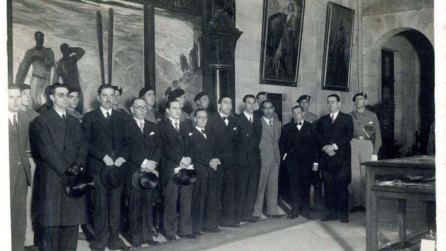 Los obreros que formaron el primer Gobierno vasco