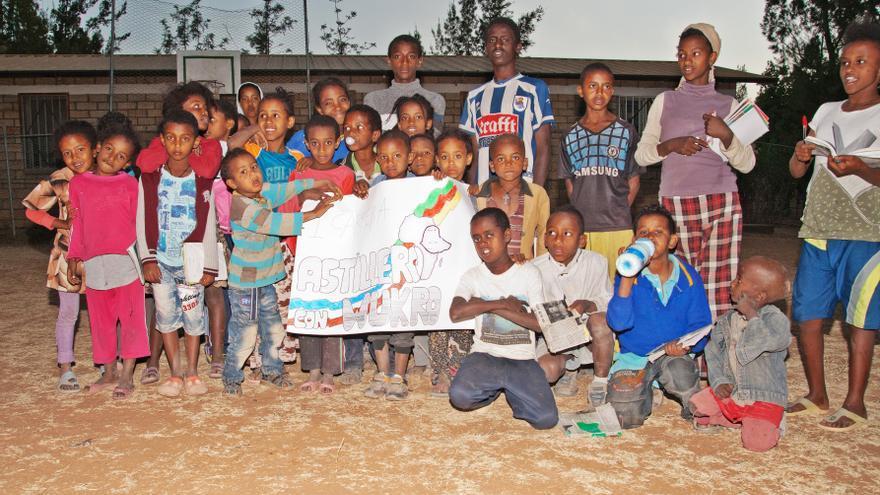 La Asociación Melaku recauda fondos para sufragar proyectos de cooperación en Wukro (Etiopía).