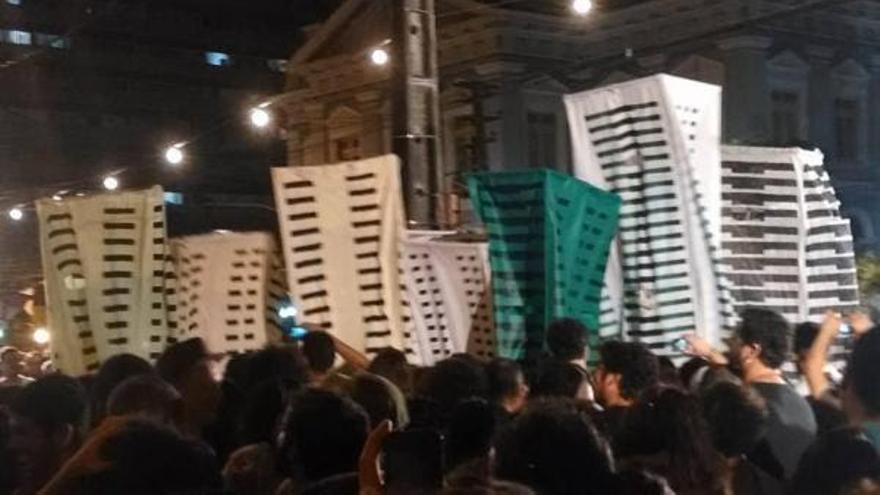 Carnaval político en Brasil / B.G.