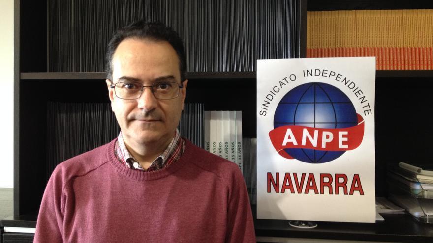 Carlos Rodrigo Guerra, presidente de ANPE Navarra.