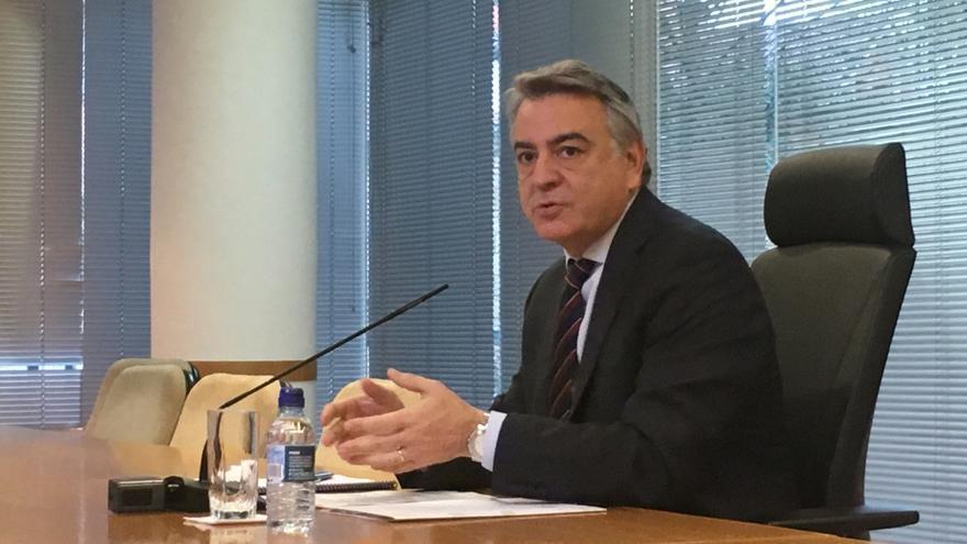 El delegado del Gobierno en el País Vasco, Javier de Andrés