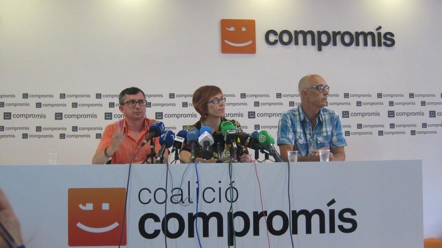 """Compromís, """"abierto a hablar de todo"""" e invita a PSPV a negociar """"sin imposición"""" de que Puig sea presidente"""