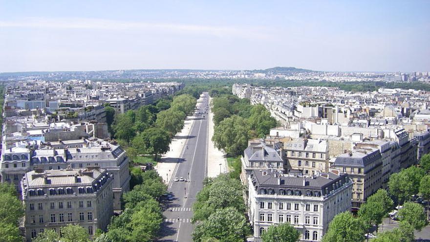 La Avenida Foch de París. / Chivista - Wikimedia Commons