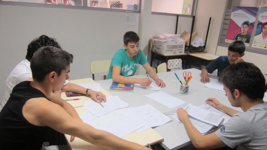 Un aula del programa Promociona / Fundación Secretariado Gitano.