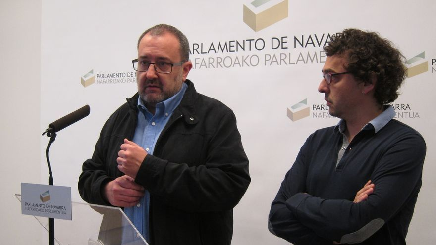 """IU Navarra rechaza un Gobierno con el PSN apoyado por UPN y apuesta por un Ejecutivo """"desde la izquierda y plural"""""""