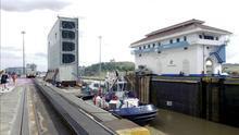 El presidente de Panama anuncia que el Canal ampliado se inaugurará en mayo